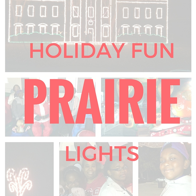 Prairie Lights in Grand Prairie is a perfect way to spend some family time together this holiday season.