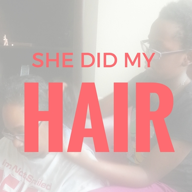 A 10-year-old gives her mom a new look!