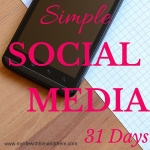 Click here to read my series on simple social media