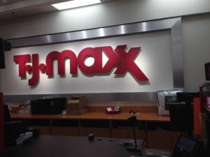 Fun shopping at TJ Maxx in Dallas