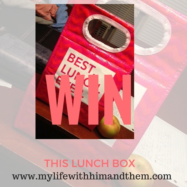 click for your chance at winning a free lunch tote