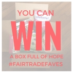 Click to enter and possibly win a box of fair trade faves!