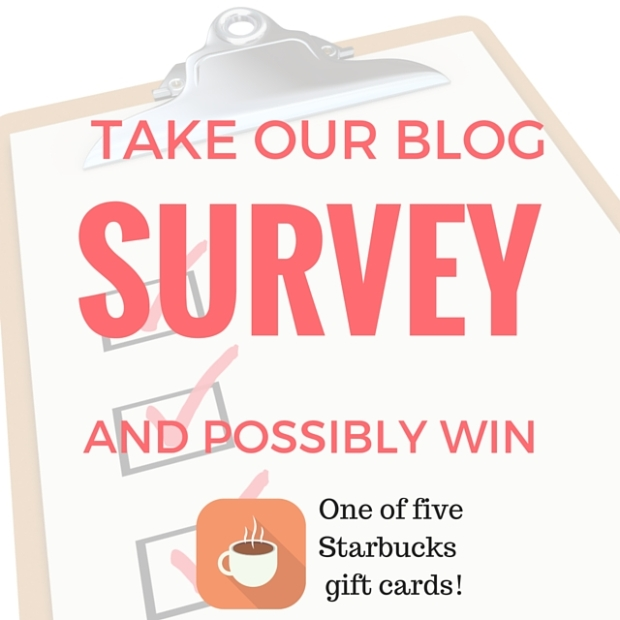 Starbucks giveaway ends this Thursday!