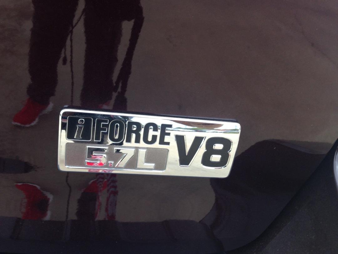 2016 Toyota Sequoia has a v8 engine