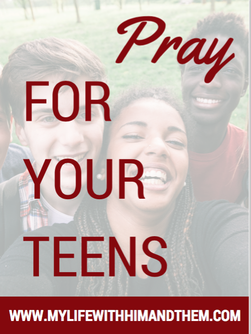 Click to access a pdf version of a free prayer guide for parents of teens