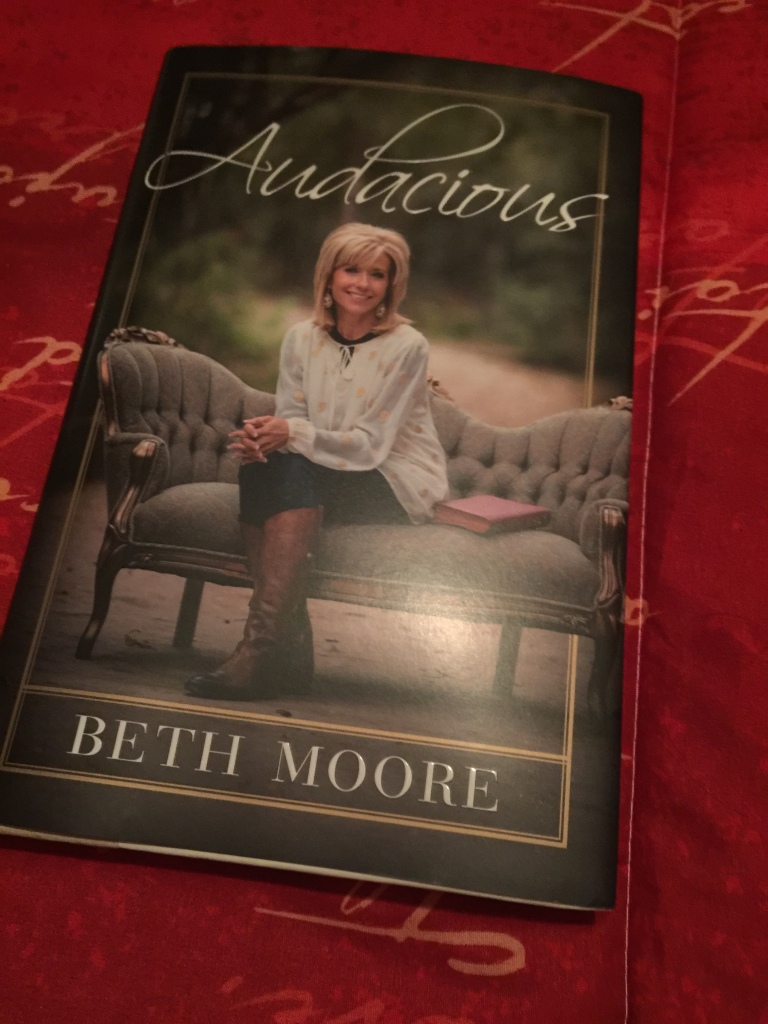 Beth Moore's Audacious is one symbol of Easter for a family at www.mylifewithhimandthem.com