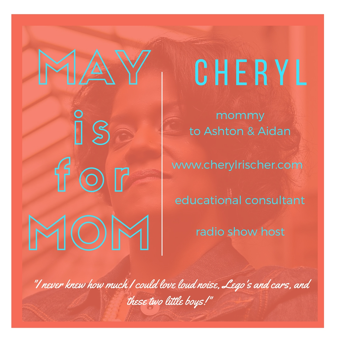 Meet Cheryl on the Celebrating Mom series at www.mylifewithhimandthem.com