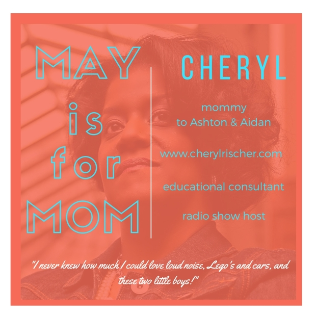 Meet Cheryl on the Celebrating Mom series at www.mylifewithhimandthem.com