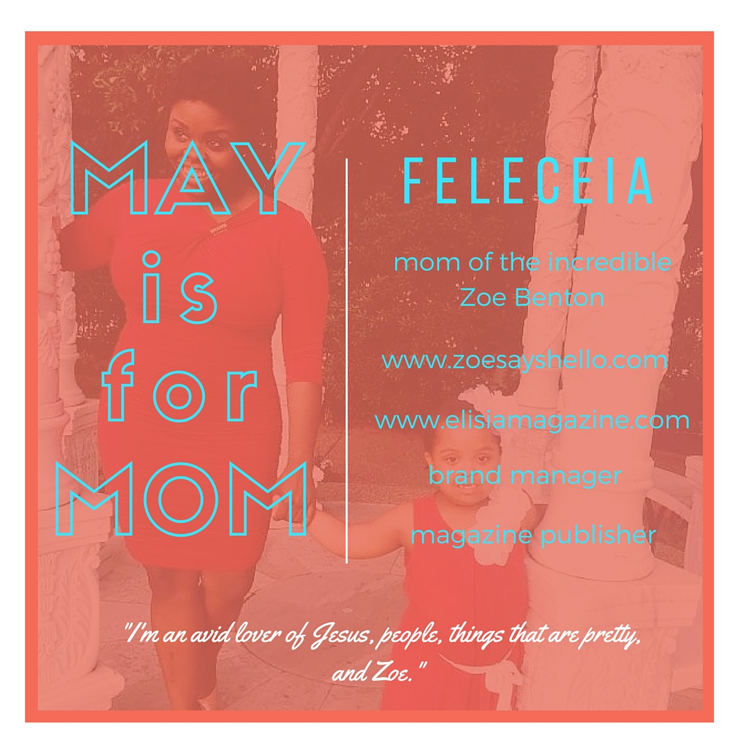 Meet Feleceia on the celebrating mom series at www.mylifewithhimandthem.com