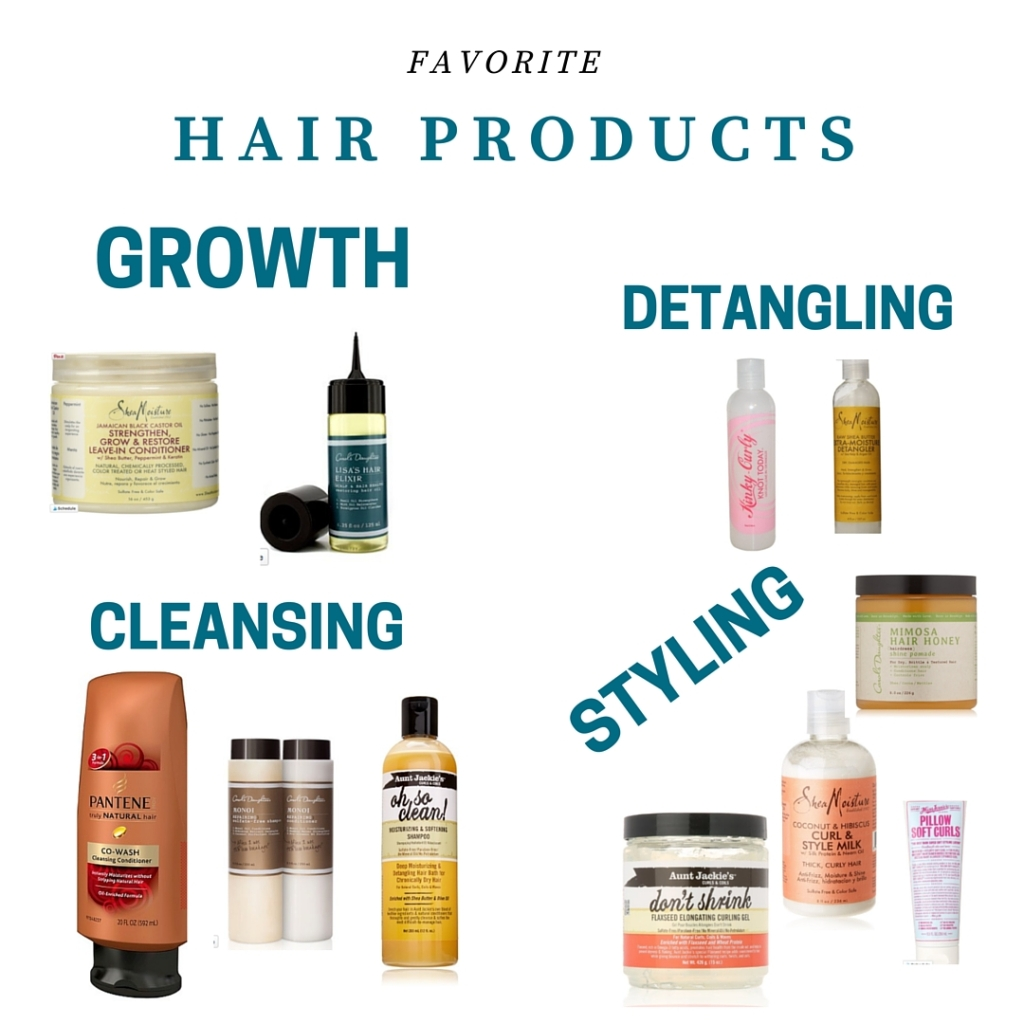 hair products i love as seen on www.mylifewithhimandthem.com