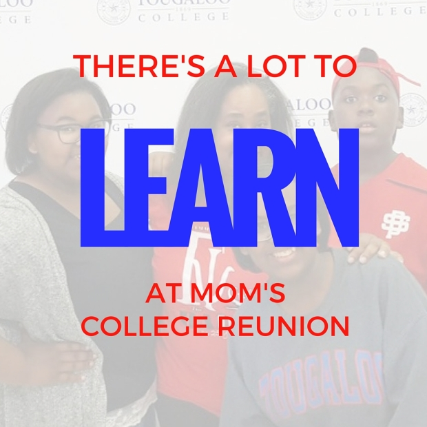 This mom took her three teens to her college reunion...click to see the benefits she saw for them from www.mylifewithhimandthem.com