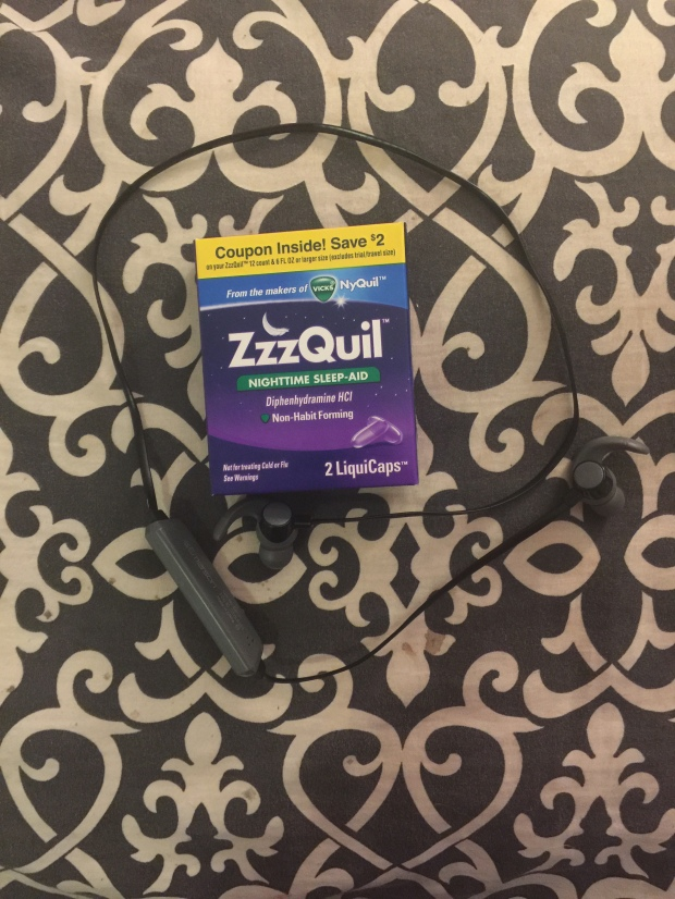 When things got crappy, I couldn't sleep. Thanks to ZzzQuil, I was able to.